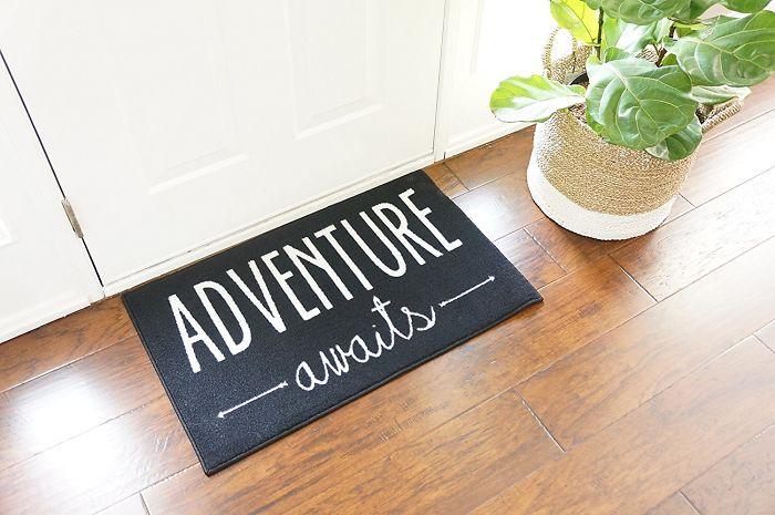 Adventure Awaits Door Mat