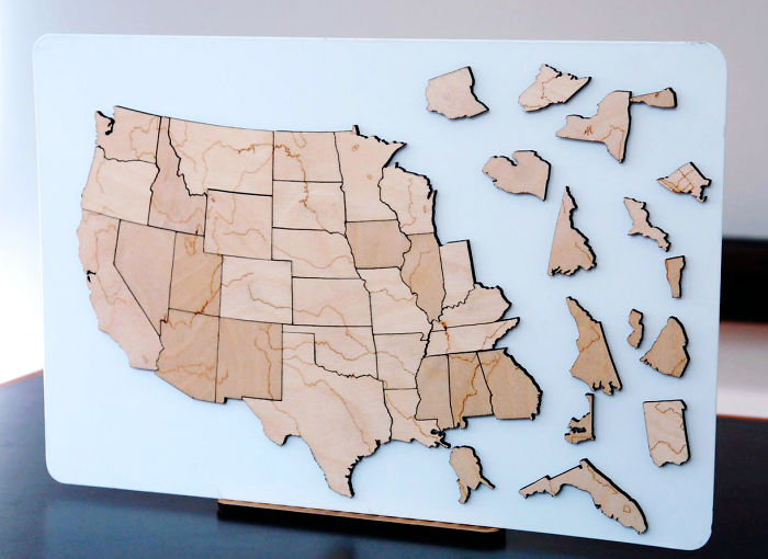Usa Magnet Map