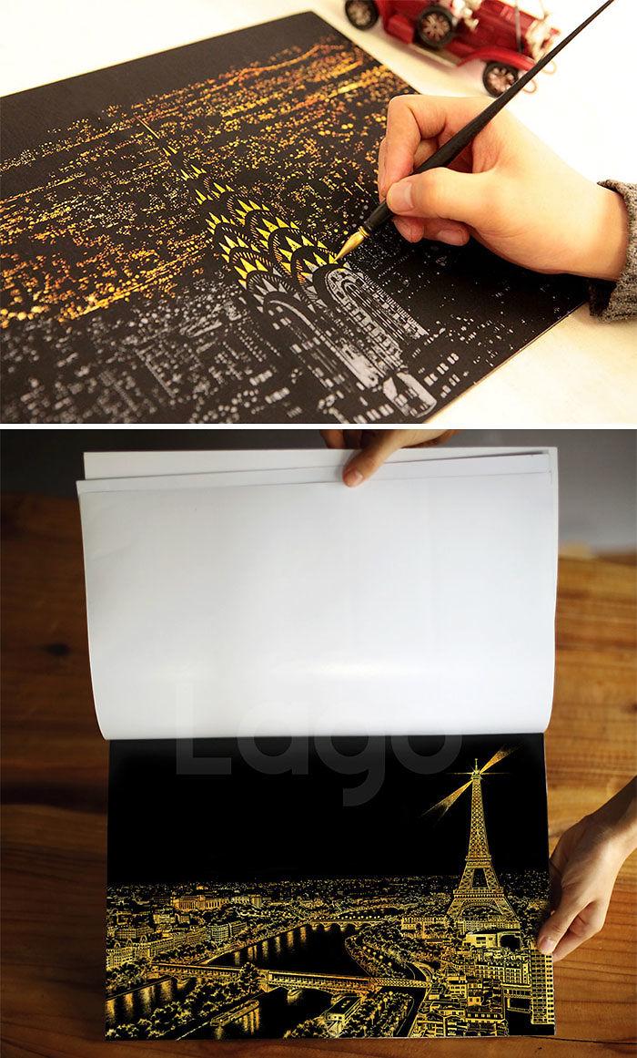 Scratch Off Cities Book