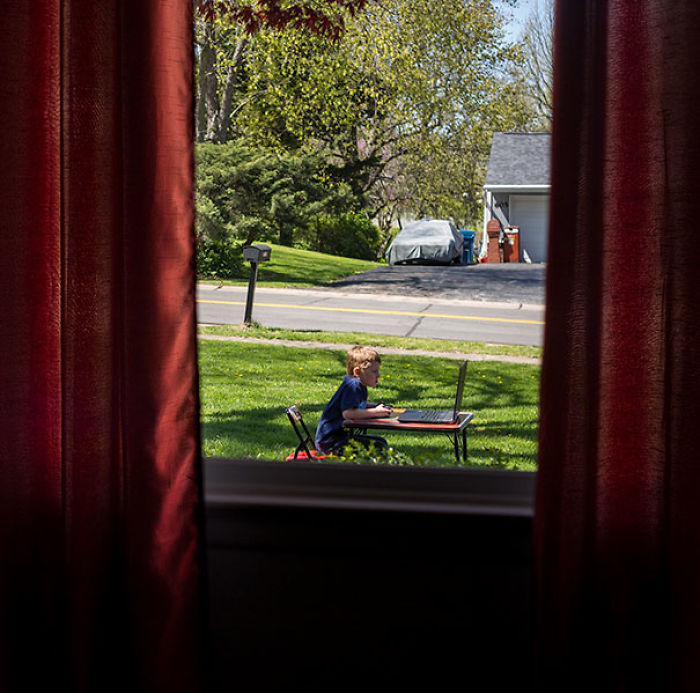 Not Exactly What I Had In Mind When I Told My Son It Was Too Nice Out To Play Games Inside