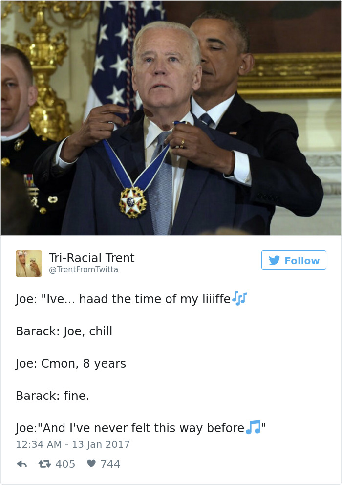 12 hilarious memes about obama surprising joe biden with the medal of freedom 9 hilarious memes about obama surprising joe biden with the medal of