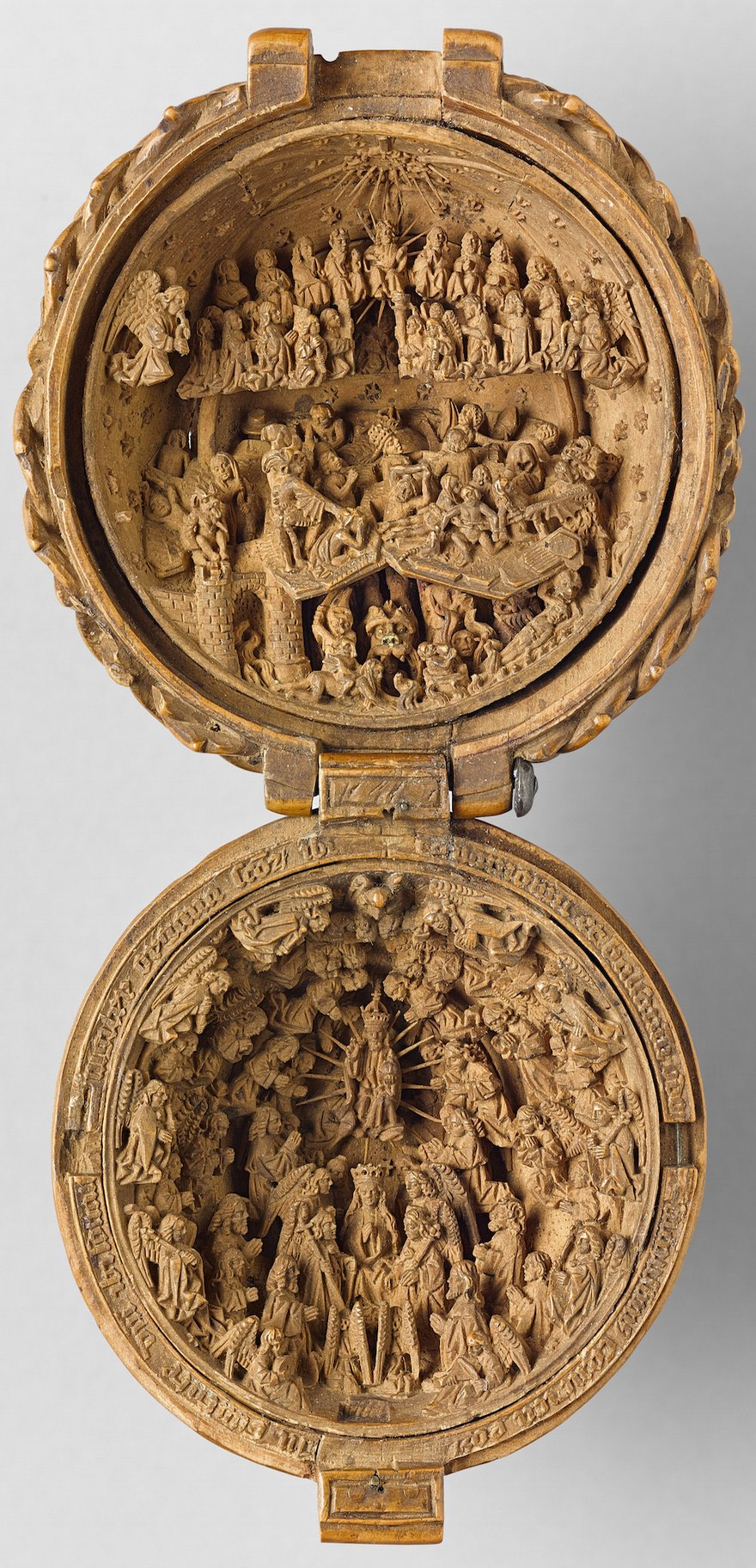 Th century boxwood carvings are so miniature researchers