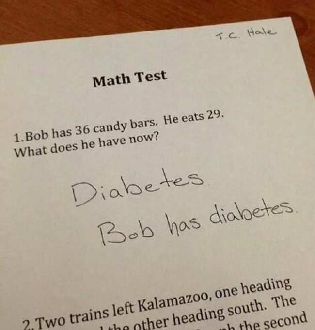 Smartass Kids Give Hilarious Answers To Test Questions ViraScoop - 16 smart ass kids who are clearly going places