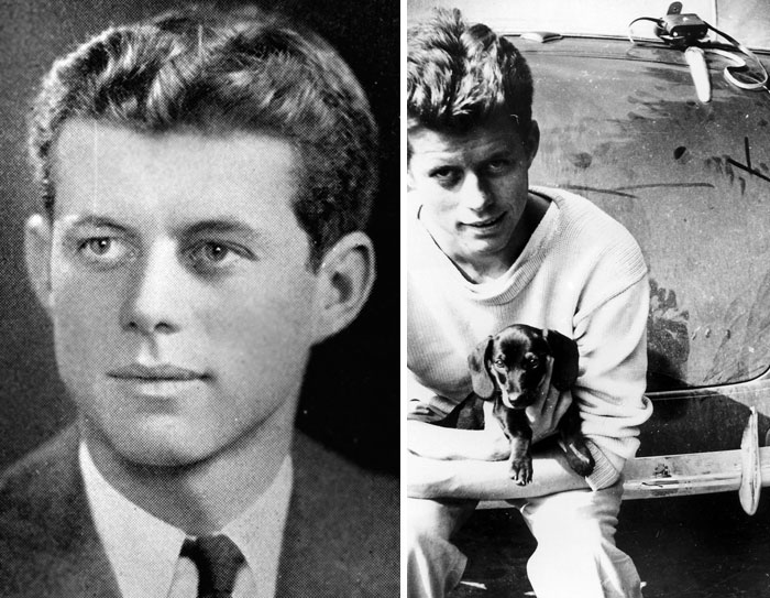 John F. Kennedy, Age 21 And 20
