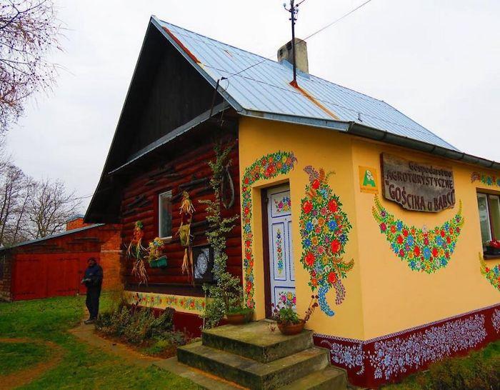 Village Of Zalipie