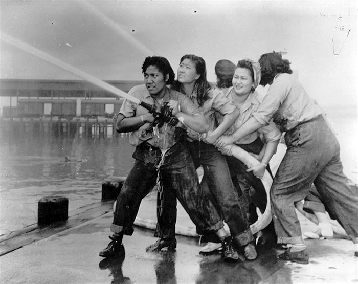These Women Were Firefighters At Pearl Harbor (1941)