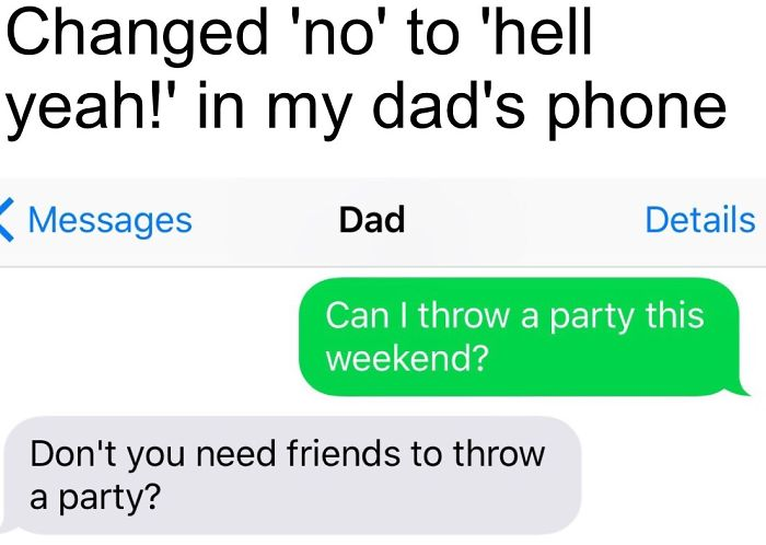 Image of: Drunk Funny Dad Text Virascoop 30 Of The Funniest Texts From Dads Ever Virascoop