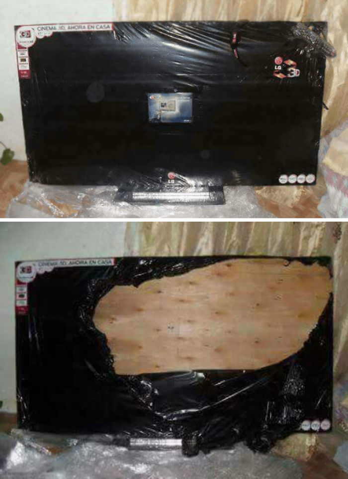 Probably Wasn't A Good Idea To Purchase This TV From Unreliable Vendors