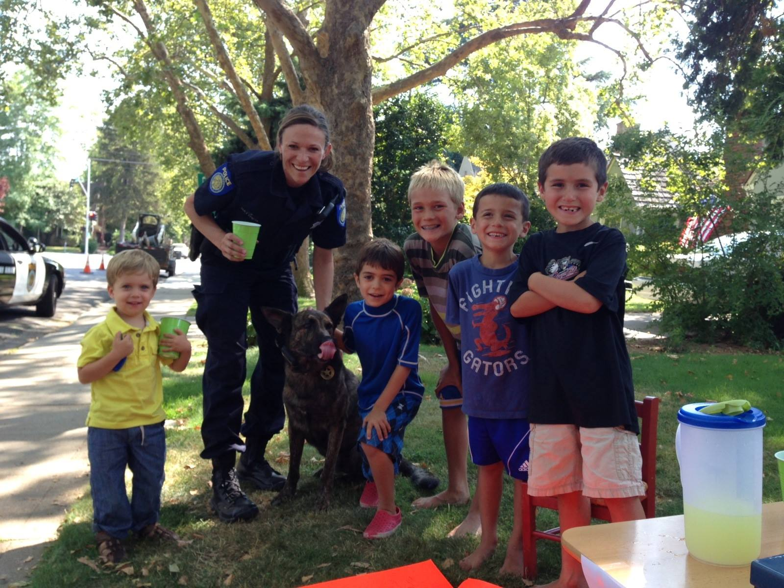 Rollo The Police Dog Got His Own Retirement Party