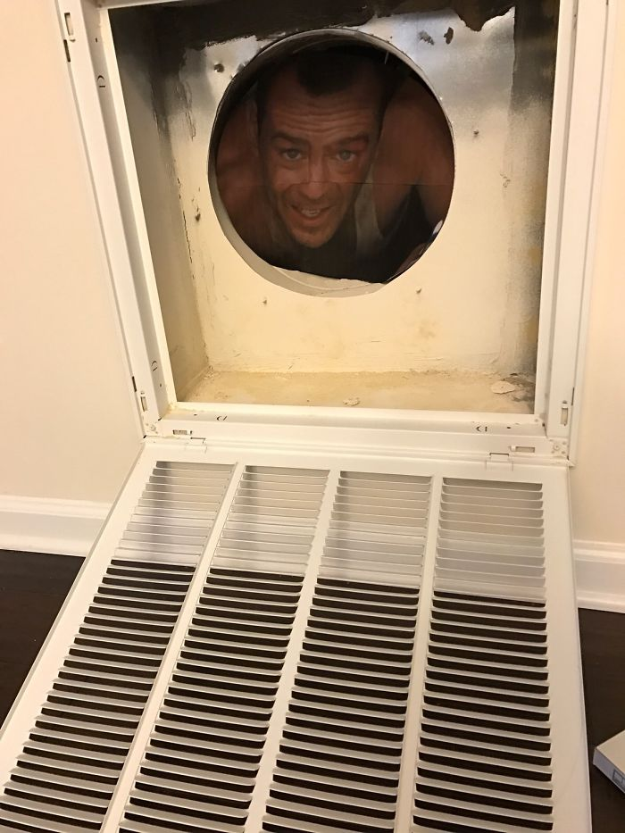 Was Wondering Why My Wife Was Giggling When She Asked Me To Change The Air Filters