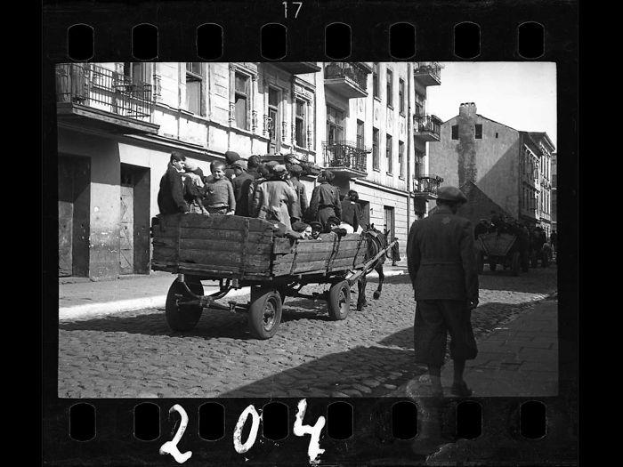 1942: Children Being Transported To Chelmno Nad Nerem (Renamed Kulmhof) Death Camp