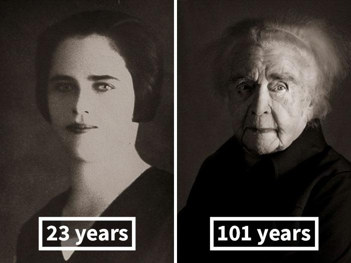 Ludmila Vysloužilová, 23 Years Old (Gift For Her Fiancé), 101 Years Old