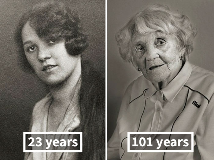 Vlasta Čížková, 23 Years Old (Finished Girl High School), 101 Years Old