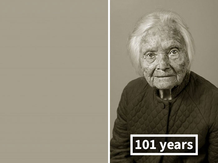 Marie Fejfarová, Her Personal History Was Burnt; On The Right 101 Years Old