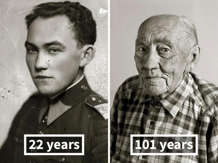Prokop Vejdělek, 22 Years Old (Oath Of Enlistment), 101 Years Old