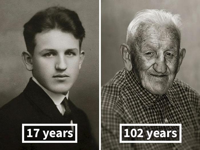 Stanislav Spáčil, 17 Years Old (Skilled Electrician), 102 Years Old