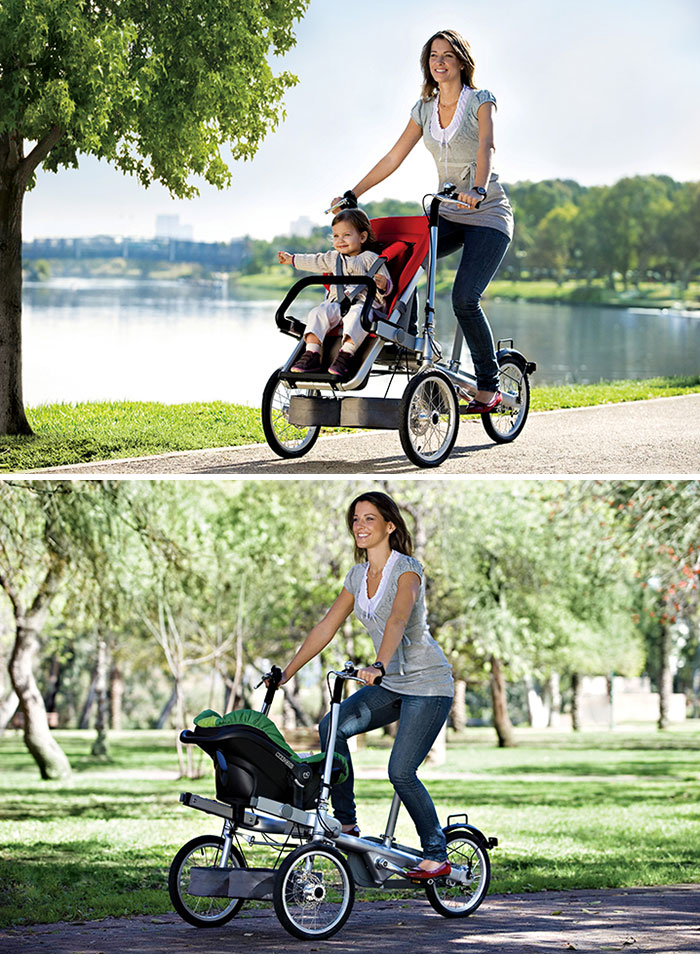 Bikes That Double As Strollers