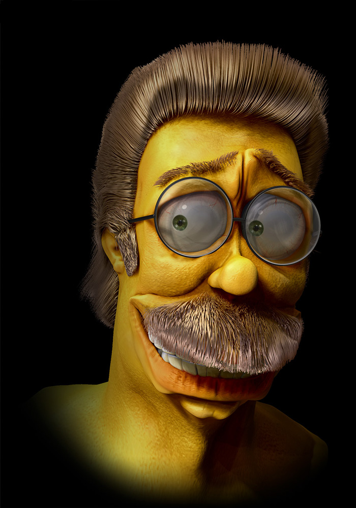 Realistic Cartoon Characters You Would Run Away From If You Met - 18 realistic cartoon characters that are the stuff nightmares are made of