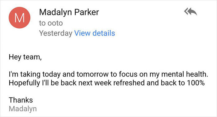 woman-email-mental-health-day-ceo-response-madalyn-parker-15