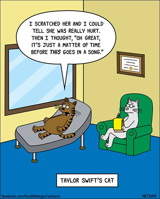 26 Hilarious Cat Cartoons That Will Help You Face Your ...