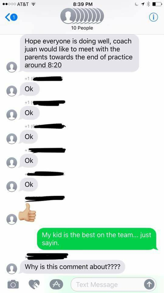 some soccer moms accidentally added a stranger to their group text and he decided to troll them all 21 Some soccer moms accidentally added a stranger to their group text, and he decided to troll them all