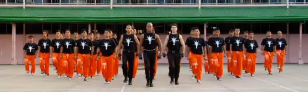 prisoners dancing