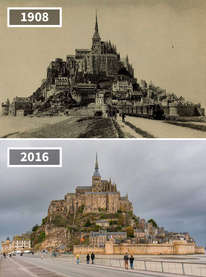 Before After Pics Showing How The World Has Changed Over Time - Before and after world