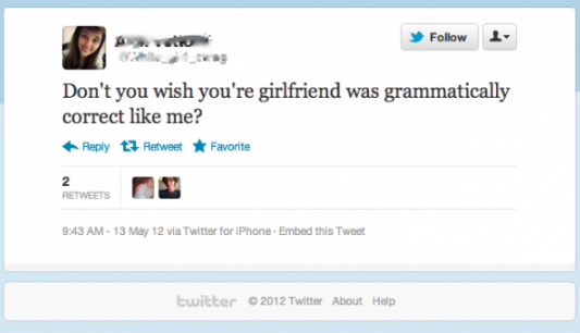 tweet fail grammar