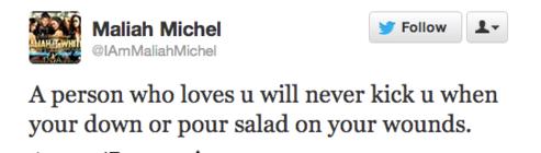 twitter salad