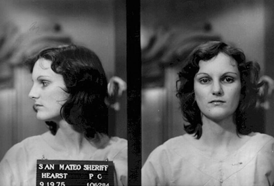 Patty Hearst Booking Photo