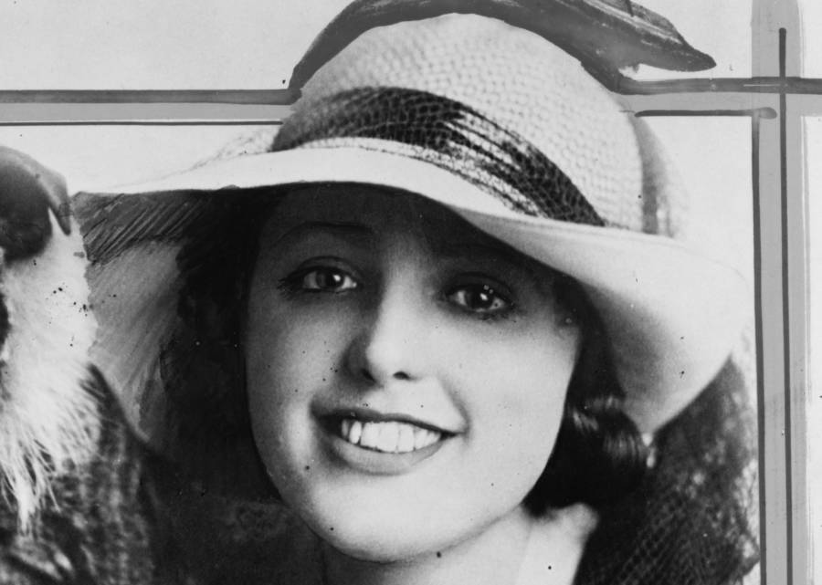 Virginia Rappe Portrait